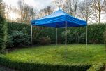Easy Up partytent 4x4 m Blauw Pro-50 Grizzly Outdoor