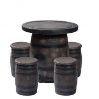 Barrel Houten vaten set