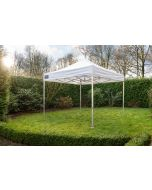 Easy Up Vouwtent 4x4 m Wit Pro-50 Grizzly Outdoor