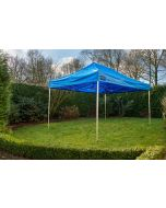 Grizzly Outdoor vouwtent 3x4,5 m Pro 50 Blauw