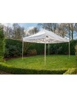 Easy Up partytent 3x4,5 m Pro -40 PVC Grizzly Outdoor Wit