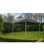 Easy Up partytent 3x4,5 m Pro-40 Grizzly Outdoor Zwart