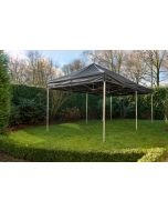 Easy Up Vouwtent 3x6 m Zwart Grizzly Outdoor