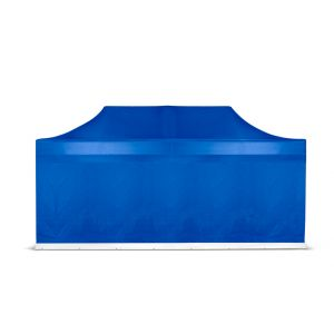 Grizzly-outdoor easy-up zijwand 6 meter blauw