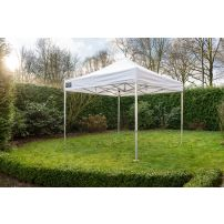 Easy Up Vouwtent 4x4 m Wit GO-UP50 Grizzly Outdoor