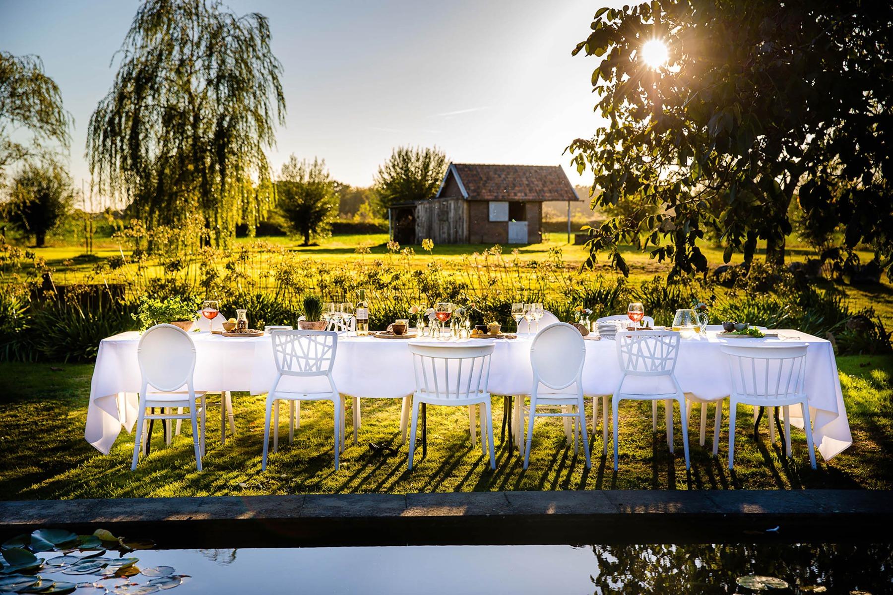 bruiloft stoelen modern
