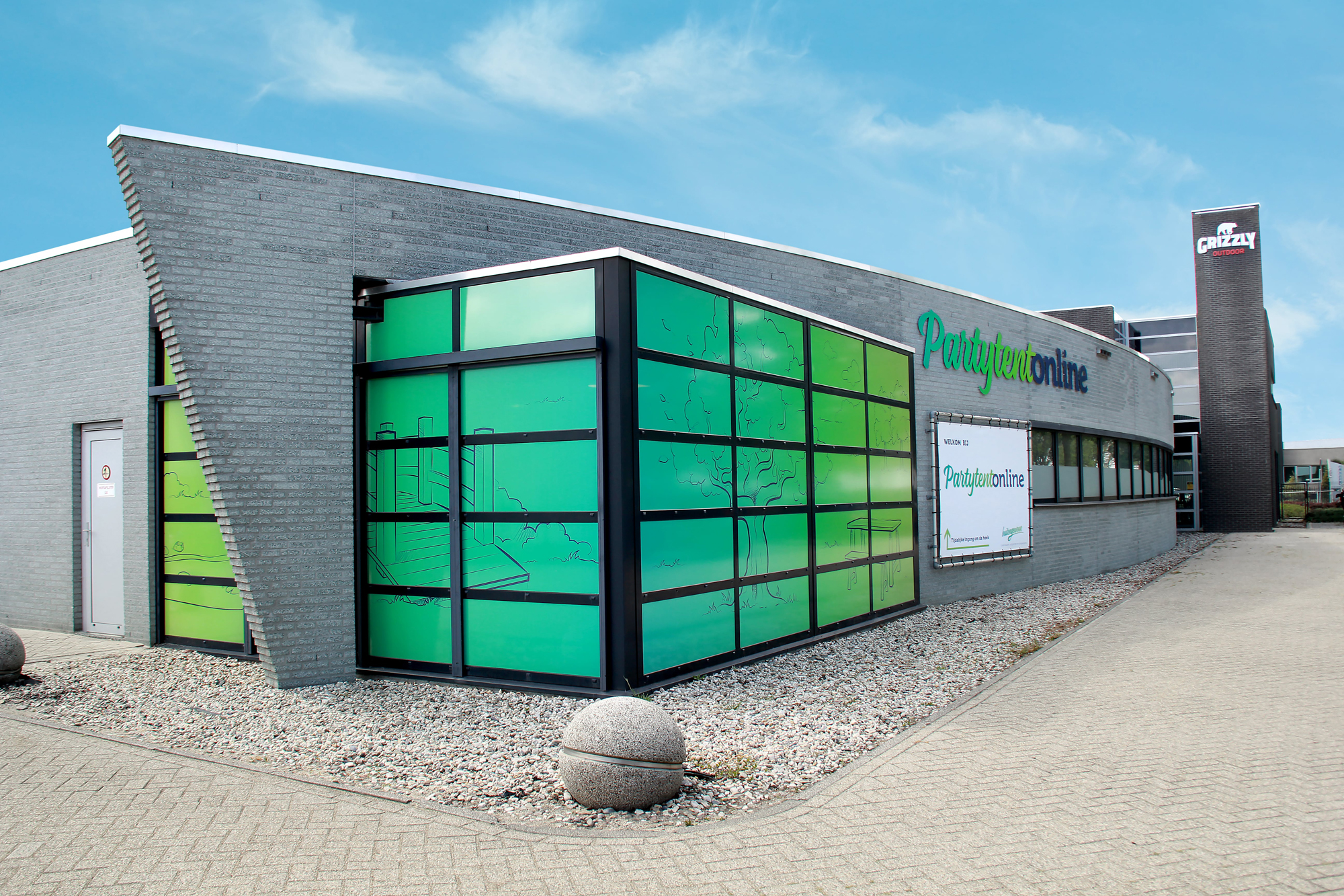 Pand Partytent-Online Veghel